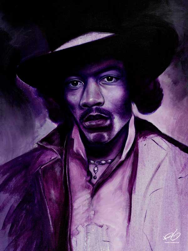 Jimi Hendrix Porträtt