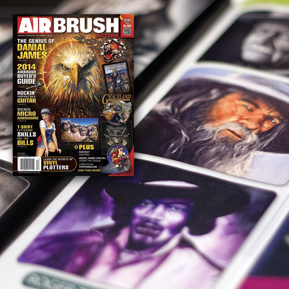 Roger Thomasson Published in Art Magazine